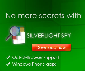 Rectangle 300x250 FirstFloor Software - SilverLight Spy